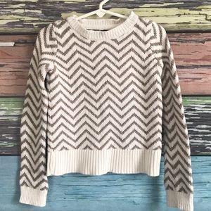 Gap Kids chevron sweater, EUC, XS 4-5